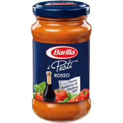 Barilla pesto s rajčaty a balzamikovým octem - 190g.