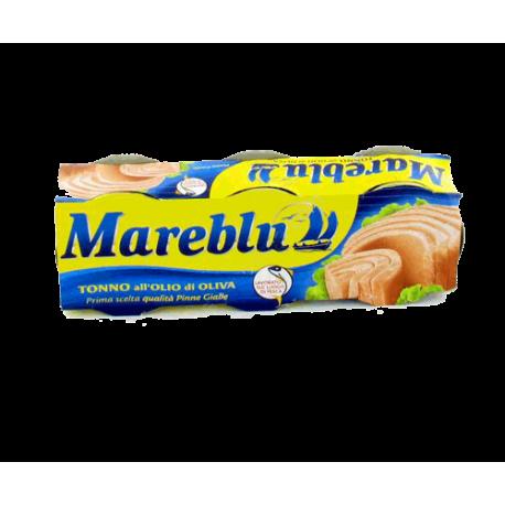 Mareblu - tuňák v olivovém oleji - 3 x 80g (240g)