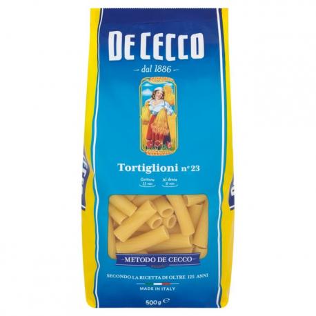 De Cecco Mezzi Rigatoni - 500g.