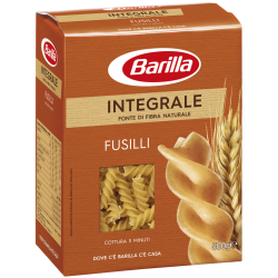 Barilla Integrale Fusilli celozrnné - 500g.