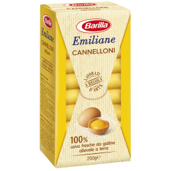 Barilla Emiliane Cannelloni egg-based pasta - 250g