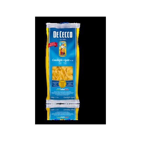 De Cecco - Conchiglie Rigate - 500g.