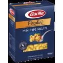 Barilla Piccolini Mini Pipe Rigate - 500g.