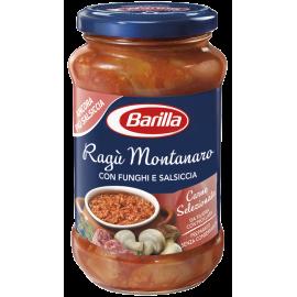 Barilla Ragú Montanaro s houbami a klobásou - 400g.