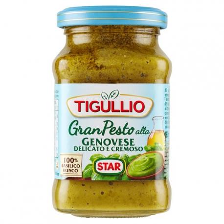 Tigullio Gran Pesto alla Genovese - basilico fresco without garlic - 190g