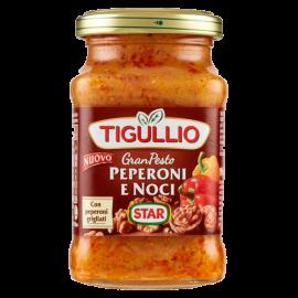 Tigullio Gran Pesto Peperoni e Noci - pesto s paprikou a oříšky - 190g