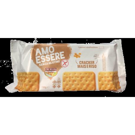 Amo Essere Cracker (krekry) - bezlepkové - 190g