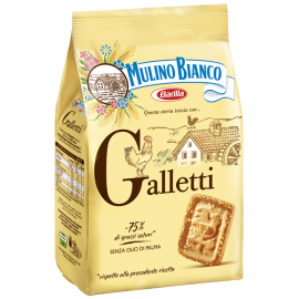 Mulino Bianco - sušenky Galletti - 400g.