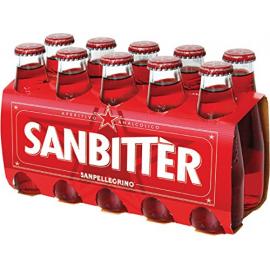 San Bitter - nealkoholický aperitiv - 10x0.1l